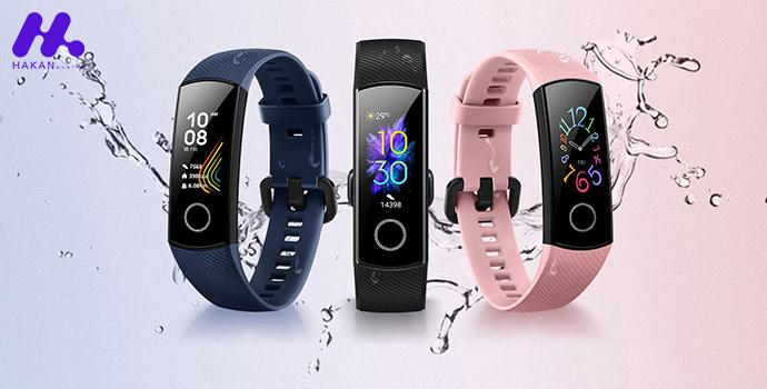 مشخصات فنی ساعت هوشمند آنر بند 5
