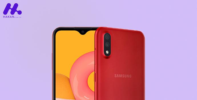 دوربین گوشی Galaxy A01
