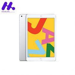تبلت اپل مدل iPad 7 10.2 4G ظرفیت 128 گیگابایت نقره ای