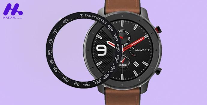 صفحه نمایش ساعت هوشمند شیائومی مدل آمازفیت GTR