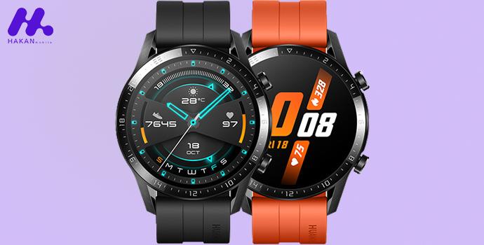 صفحه نمایش ساعت هوشمند هواوی GT2