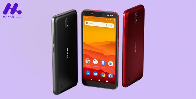 مشخصات فنی گوشی نوکیا سی ۱ (Nokia C1)