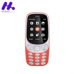 گوشی موبایل اُرُد مدل 3310 دو سیم کارت نارنجی
