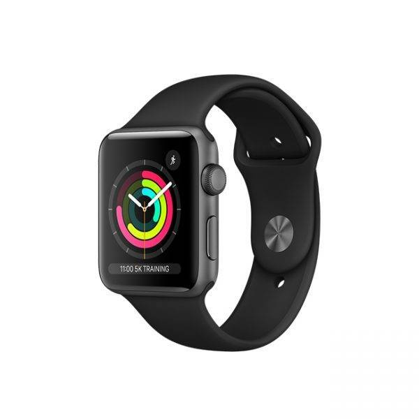 ساعت هوشمند اپل واچ مدل (Series 3 (42mm مشکی