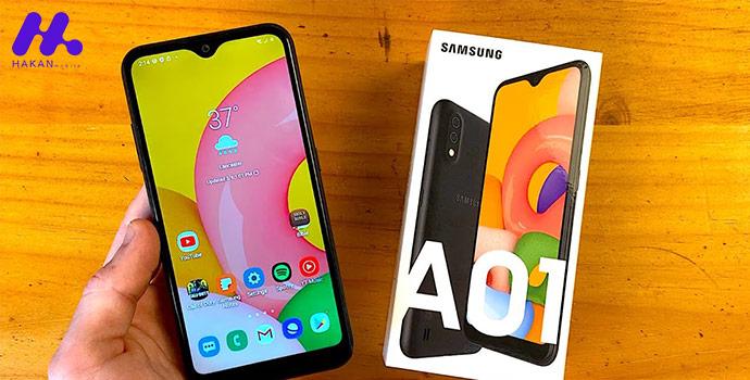 مشخصات فنی گوشی Samsung Galaxy A01