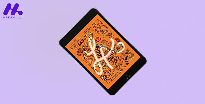 صفحه نمایش تبلت اپل مدل iPad mini 5 7.9 WIFI 4G