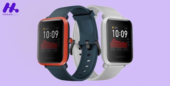 طراحی ساعت هوشمند Amazfit Bip S