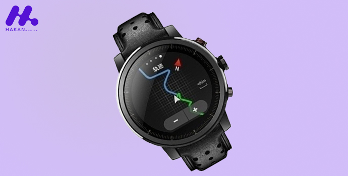 صفحه نمایش ساعت هوشمند Xiaomi Amazfit Stratos 2s