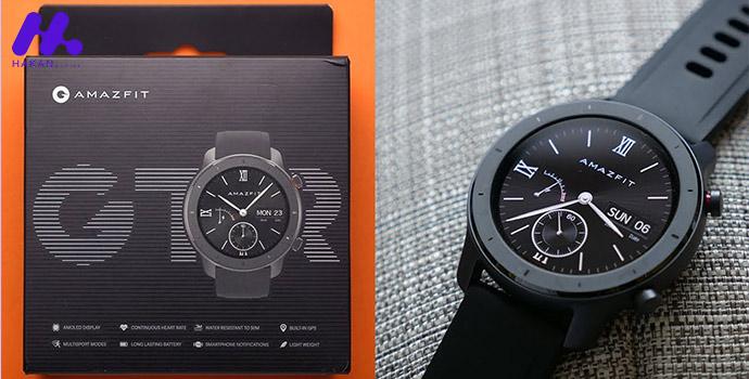 مشخصات فنی ساعت هوشمند شیائومی مدل آمازفیت جی تی ار