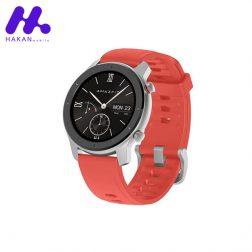 ساعت هوشمند شیائومی مدل آمازفیت Amazfit GTR 42mm قرمز