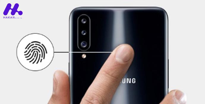 حسگر اثر انگشت گوشی Samsung Galaxy A20s