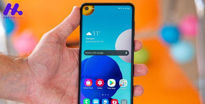 طراحی و ساختار گوشی Samsung Galaxy a21s