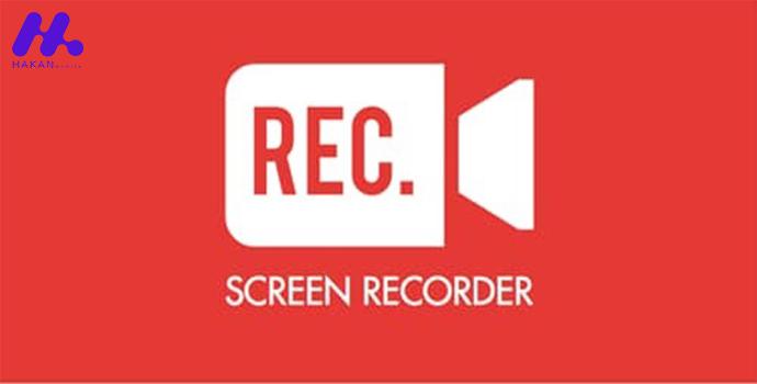برنامه Screen Recorder- Record your screen