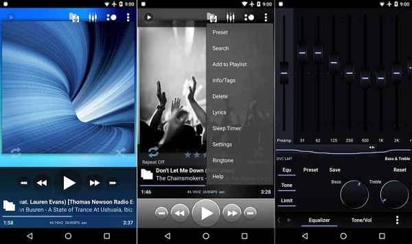 برنامه محبوب پخش کننده موسیقی poweramp