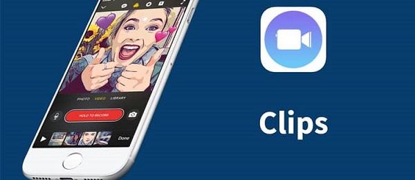 برنامه موبایلی Clips برای ادیت ویدئو و ساخت کلیپ