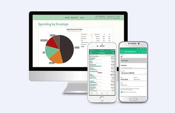 برنامه های موبایل برای مدیریت هزینه: برنامه Goodbudget