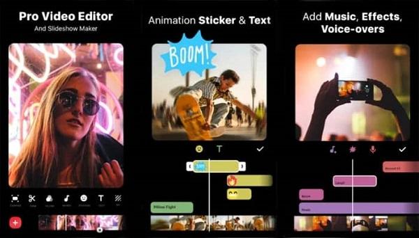 برنامه موبایلی ادیت ویدئو و ساخت کلیپ Inshot Video Editor