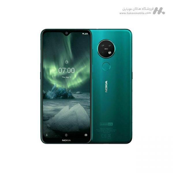 گوشی نوکیا ۷٫۲ سبز