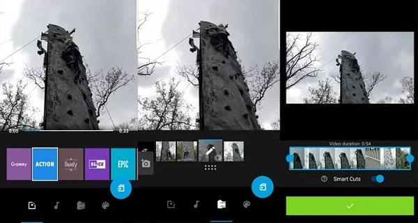 برنامه موبایلی ادیت ویدئو و ساخت کلیپ Quik