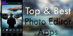 معرفی بهترین برنامه های موبایل برای ادیت عکس