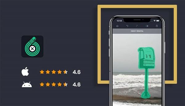 بهترین برنامه موبایل ادیت عکس Touch Retouch