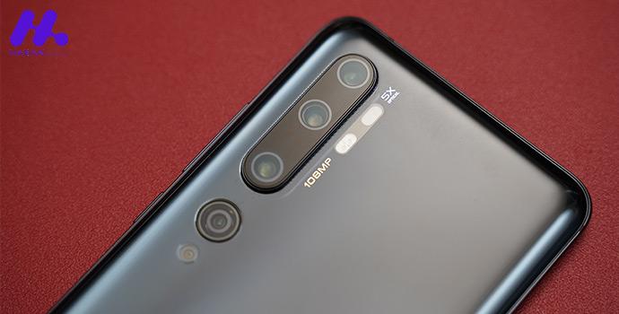 مجموعه دوربین پنج گانه Xiaomi Mi Note 10