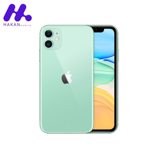 گوشی موبایل اپل آیفون 11 سبز