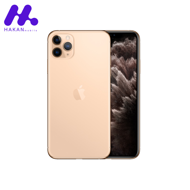 گوشی موبایل آیفون ۱۱ پرو مکس گلد