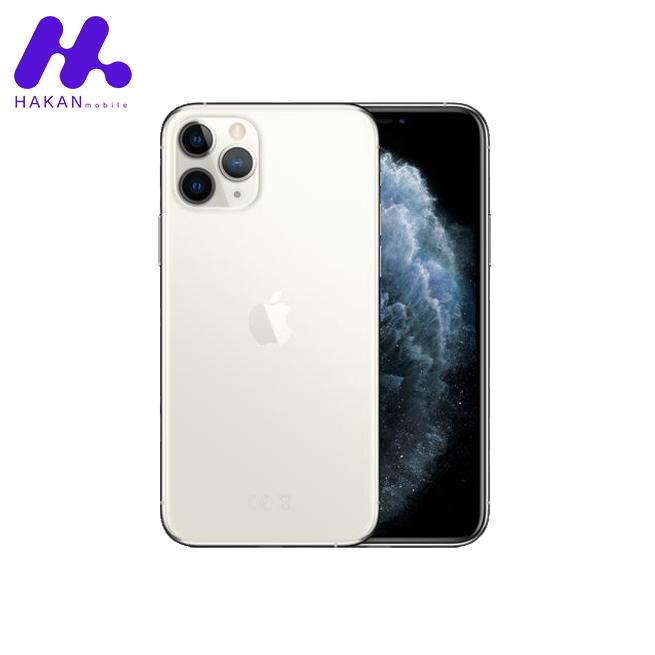 گوشی موبایل آیفون ۱۱ پرو مکس نقره ای