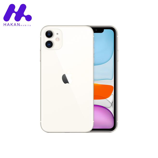 گوشی موبایل اپل آیفون 11 سفید