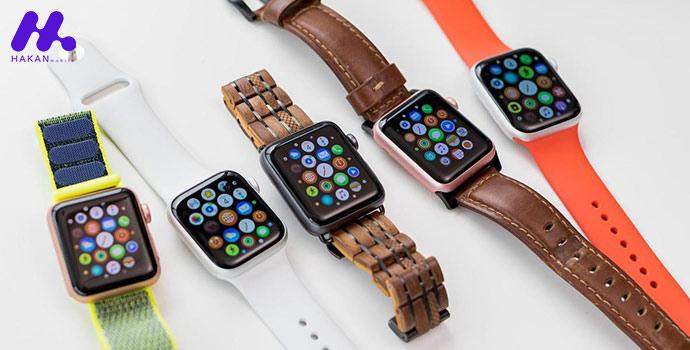 مدلهای ساعتهای هوشمند اپل