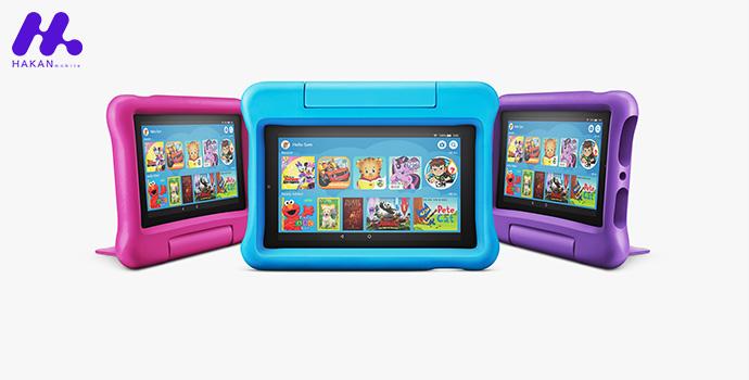 بهترین تبلت ها در سال 2020 برای کودکان : تبلت کودک Amazon Fire HD 7 Kids Edition