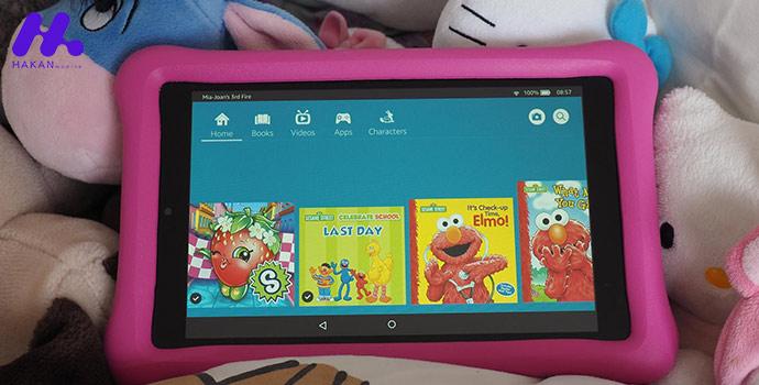 بهترین تبلت ها برای کودکان : تبلت Amazon Fire HD 8 Kids Edition