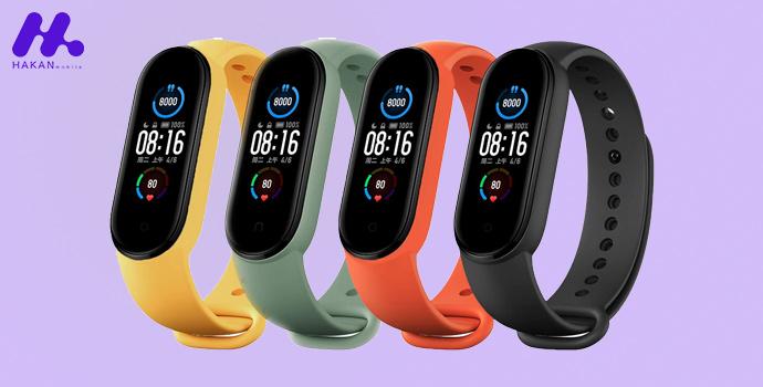 مشخصات فنی ساعت هوشمند شیائومی مدل Xiaomi Mi Band 5 Global