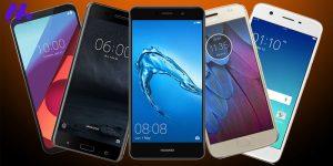 معرفی بهترین گوشی های ارزان قیمت سال 2020