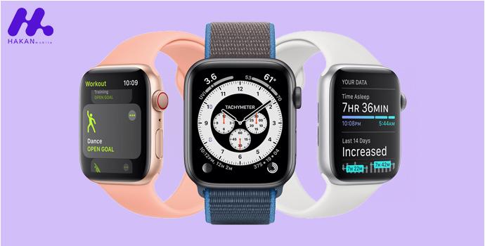 مشخصات فنی ساعت هوشمند اپل واچ سری Watch 6 44mm
