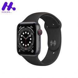 ساعت هوشمند اپل واچ سری Watch 6 مشکی