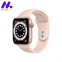 ساعت هوشمند اپل واچ سری Watch 6 گلد
