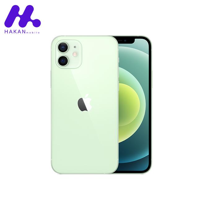 گوشی آیفون 12 ظرفیت 64 گیگابایت سبز