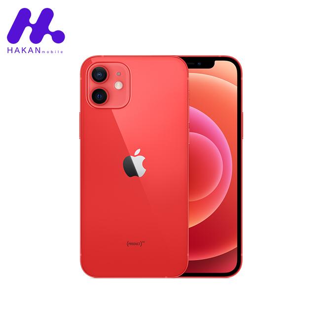 گوشی آیفون 12 ظرفیت 128 گیگابایت قرمز