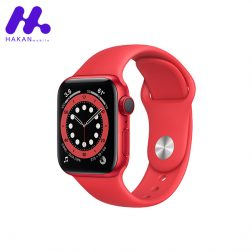 ساعت هوشمند اپل واچ سری Watch 6 40mm قرمز