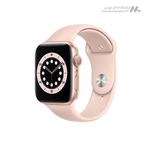 ساعت هوشمند اپل واچ سری Apple Watch 6 44mm رز گلد