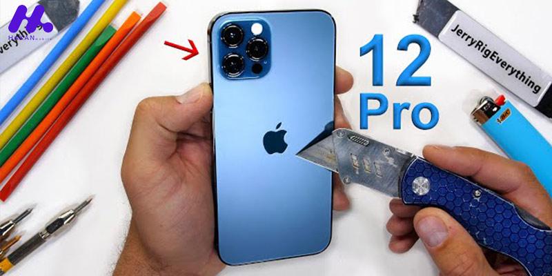 همه چیز درباره پوشش سرامیکی آیفون 12 پرو اپل