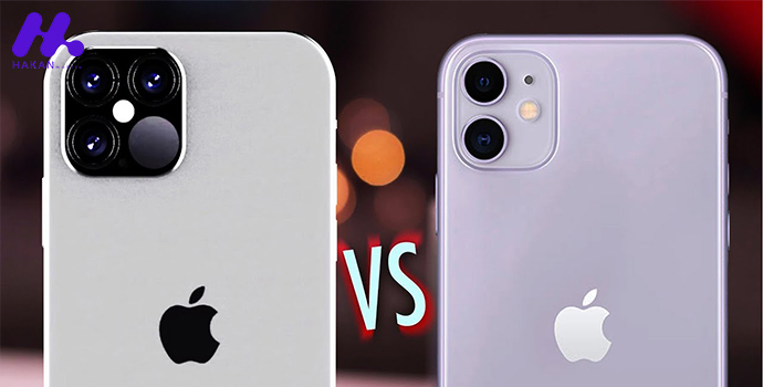 مقایسه گوشی آیفون 11 با آیفون 12: نوع و توان پردازنده