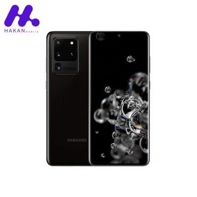 گوشی سامسونگ گلکسی S20 Ultra ظرفیت 256 گیگابایت مشکی