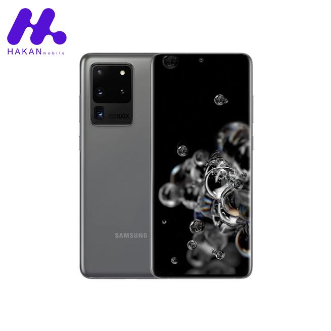 گوشی سامسونگ گلکسی S20 Ultra ظرفیت 512 گیگابایت خاکستری