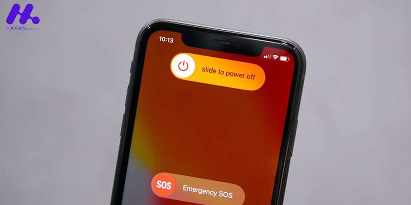 آموزش خاموش کردن گوشی آیفون بدون نیاز به دکمه پاور