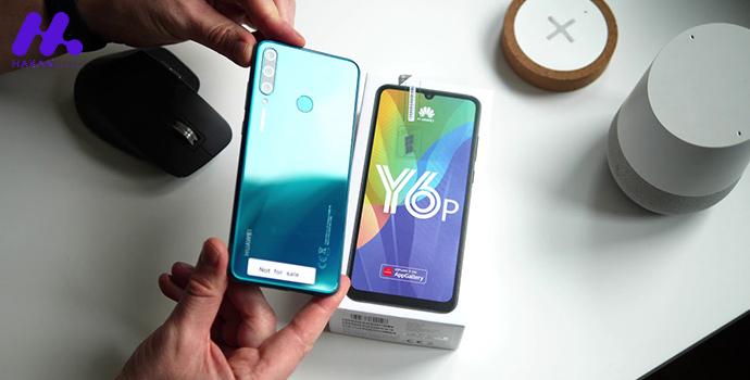 طراحی گوشی Huawei Y6p