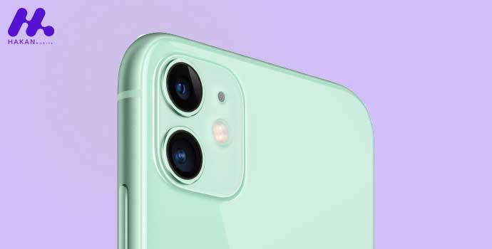 دوربین های دوگانه گوشی آیفون 11 - iPhone 11