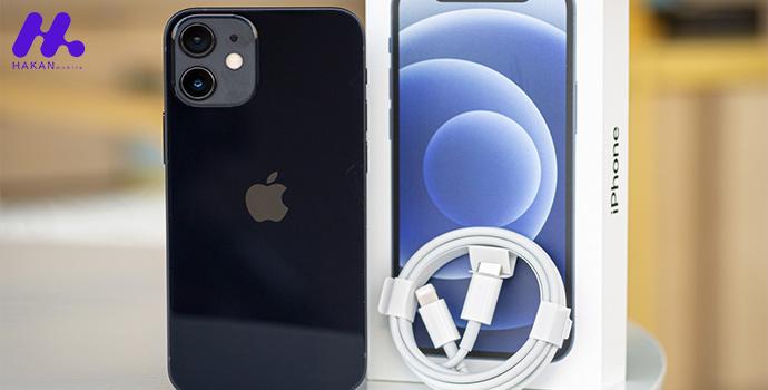 محتویات جعبه گوشی iPhone 12 mini